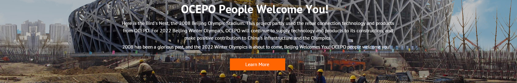 OCEPO people welcome you