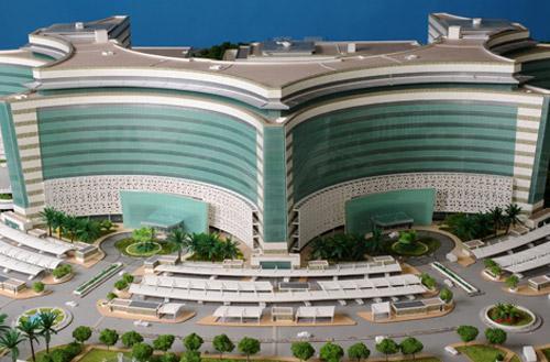 Jaber Al Ahmad Al Jaber Al Sabah Hospital, Kuwait