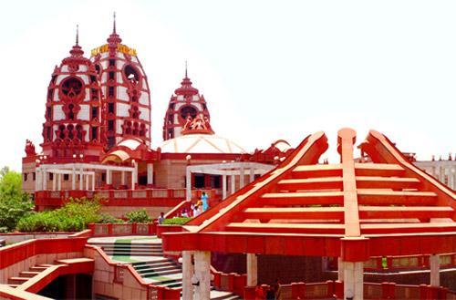 ISKON temple, Vrindavan, Mathura, India