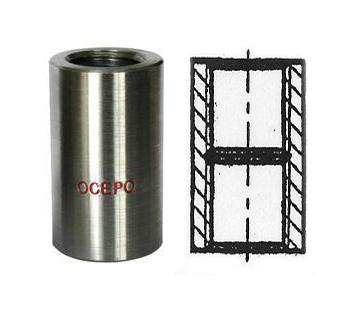 Right and Left Thread Rebar Coupler