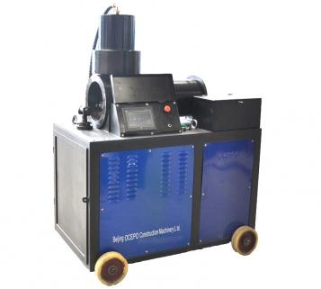 AGD-40L LCD Full Auto Double-Cylinder Rebar Upset Forging Machine