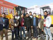 Shantui products make a big appearance at BUILDTECH EXPO 2020 in Nepal