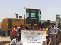 Hundred XCMG loaders exported to India