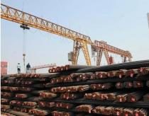 Steel prices partly down, iron ore futures stronger